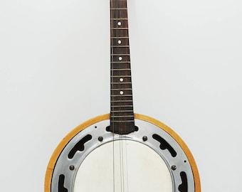 Vintage Rustic Banjo