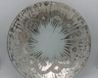 Art Glass Bowl Dorthy Thorpe Mid Century Modern