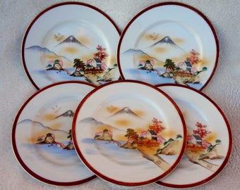 Vintage Hakusan China Plates