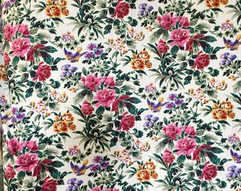 Elegant Floral Table Cloth MARCUS BROTHER TEXTILES - altar cloth, spread cloth, designer fabric