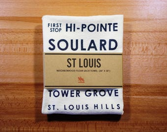 St Louis Bus Roll Towel