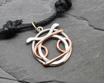 Taurus cancer zodiac necklace