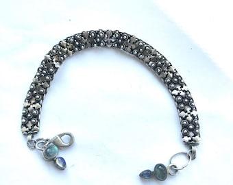 India Silver Bracelet