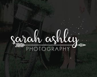Photography Logo, Handwritten Cursive Logo, Photography Watermark, Photography Stamp, Business Logo, Branding Kit, Brother Wilson - BW001