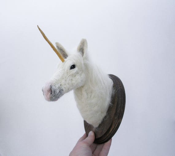Felted Unicorn (Equus monoclonius)