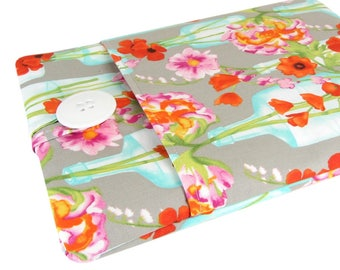 """Flower Chromebook Sleeve - Cute Accessory For Your Chromebook Laptop - Sleeve Can Be Made To Fit Any Make/Model 11 Inch 12"""" 13"""" 14"""" to 15.6"""""""