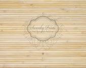 10ft x 8ft Vinyl Backdrop/ Light Bamboo Wood