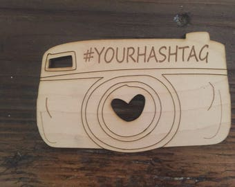 Wedding sign, capture the love, hashtag, favor tags custom,wood tag , wedding table, personalized, with love tags, wooden tags, masonjar tag