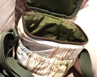 Travel Camera Bag - Handcrafted in Peru - Campestre by Lu100