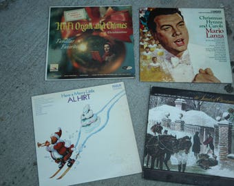 Christmas Records, Christmas Albums, Have a Merry Little, Al Hart, Organ and Chimes, Favorites, Hymns and Carols, The Sounds of Christmas