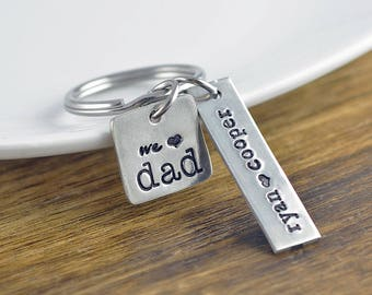 Dad Keychain, Mens Keychain, Fathers Day Gift, Gifts for Men, Dad Gifts, Mens Personalized, Gifts for Fathers Day, Gifts for Dad