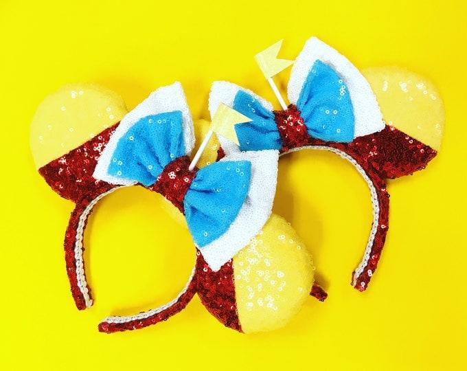 Tweedle Dee or Tweedle Dum Sequin Minnie Ears