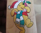 "Christmas Rubber Stamps Disney ""  Christmas Pals"" For card making  Slightly used good condition"