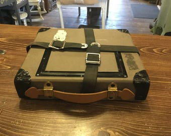 Vintage Film Reel Case, Shipping Box,Vintage Film Case