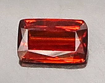 0.87 Ct Natural Garnet Spessartine Mandarin Orange