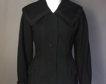 1940s 1950s suit jacket/ 1940s 1950s blazer
