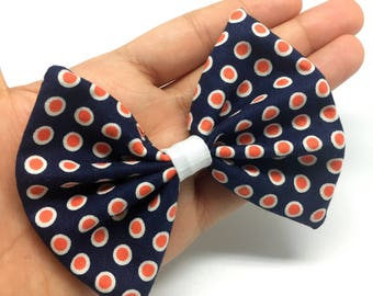 Preppy Bow tie collar attachment for cats and small dogs