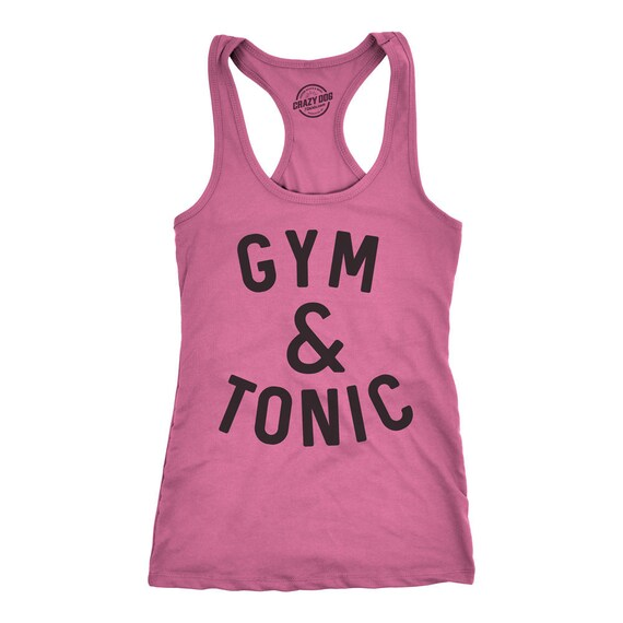 Funny Gym Tank Fun Yoga Tops Shirts With Sayings
