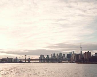 SALE New York print, New York photography, canvas art, large wall art, New York wall art, New York City, NYC,New York canvas,Brooklyn bridge