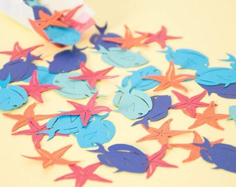 Under the Sea Party - Mermaid Confetti - Table Confetti - Under the Sea Party Decorations - Under the Sea Party Supplies - Pirate Birthday