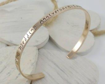 Pure bronze cuff bracelet, 8th anniversary gift. Bronze gift. Bronze bracelets. Bronze cuff. Bronze anniversary gift. Bronze bracelet.Bronze