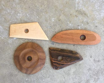These 4 pottery tools
