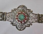 Art Deco Bracelet / Vtg 2...