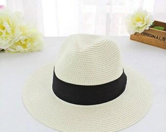 Ivory Panama Straw Hat