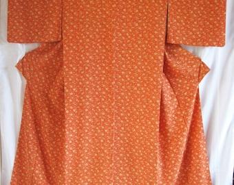 Vintage SILK Kimono#56