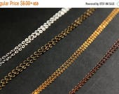 SUMMER SALE Replacement Chain. (Select a Length) Silver Plated Chain. Gold Plated Chain. Bronze Chain. Copper Chain. Silver Chain. Gold Chai