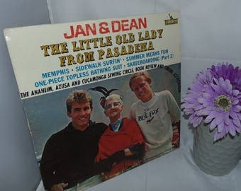 Vintage Vinyl Record LP 33 1/3 Jan & Dean The Little old Lady From Pasadena Liberty LRP-3377