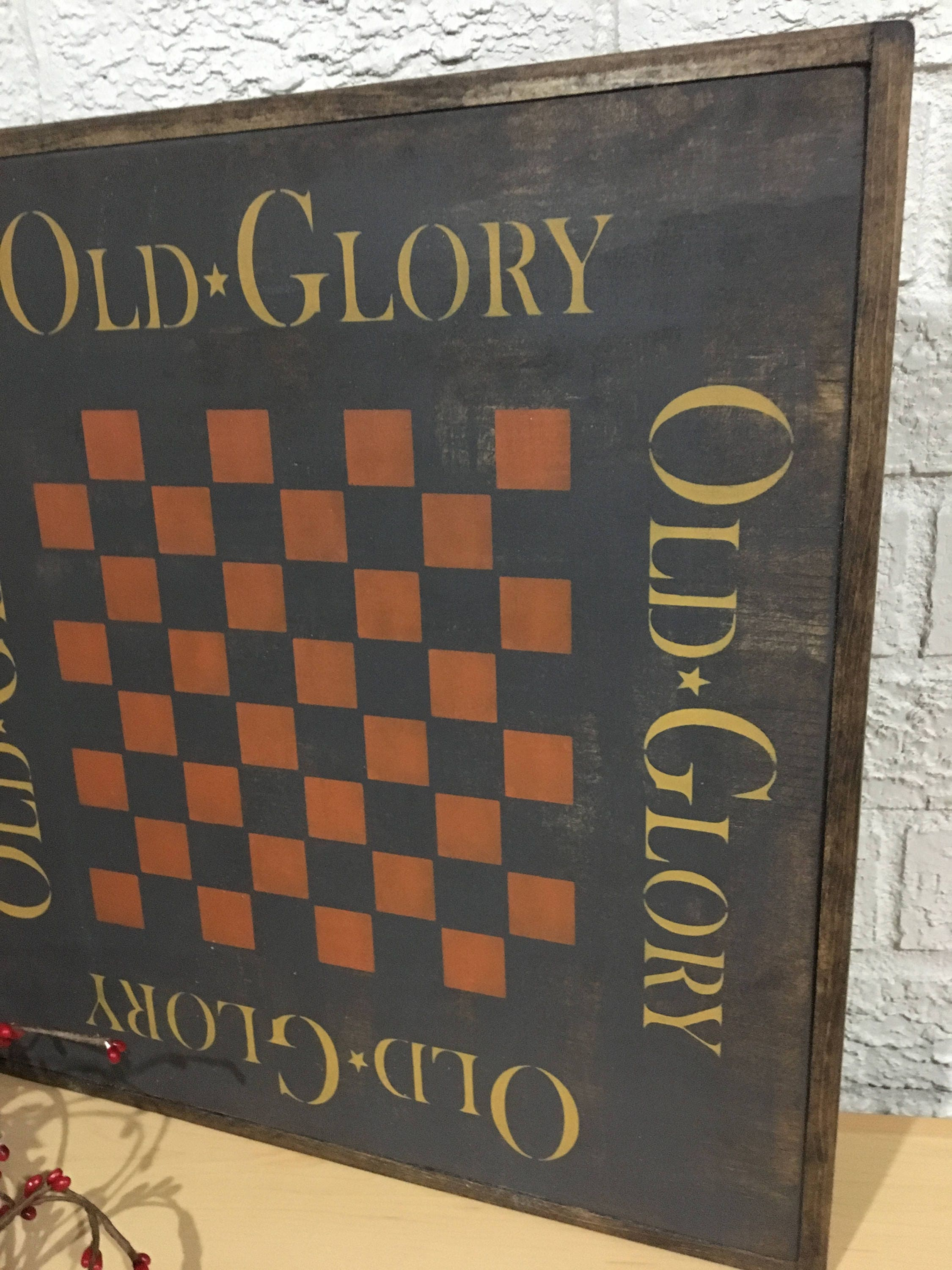 family game room family room rustic. Old Glory Rustic Game Board | Checkerboard Wall Decor Gallery Family Room T