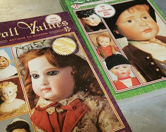 Doll Values Collectors vintage used Books 3rd and 4th editions