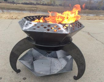 Diamond Fire Pit
