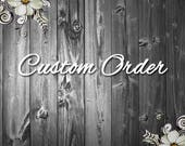 Custom listing for Sandra