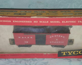 HO Scale Railroad 1860 Box Car Western Atlantic The General Series