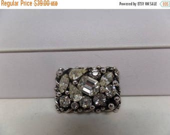 ON SALE BARCLAY Signed Vintage Sparkling Ice Pin