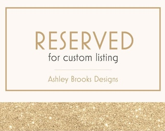 Reserved for Custom Listing for Kia