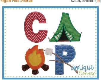 40% OFF INSTANT DOWNLOAD Camp Block applique design in digital format for embroidery machine by Applique Corner
