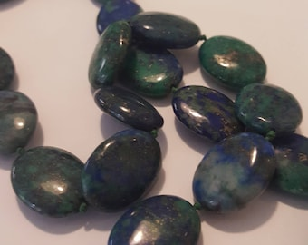 Kyanite knotted short necklace