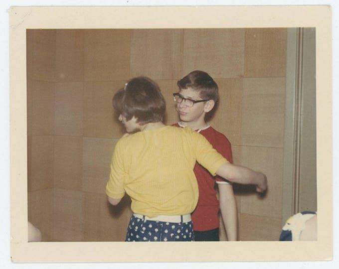 "Vintage Snapshot Photo: ""Leon"" (78602)"