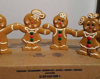 Double sided Gingerbread people