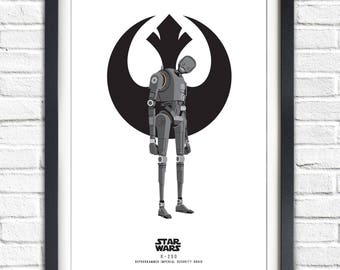 Star Wars - Solo Series - K-2SO - 19x13 Poster