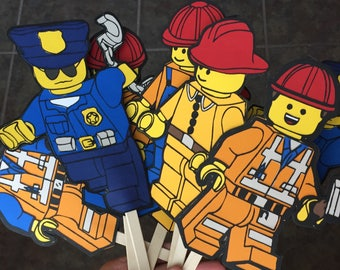 Lego City Party Decorations  Lego Birthday