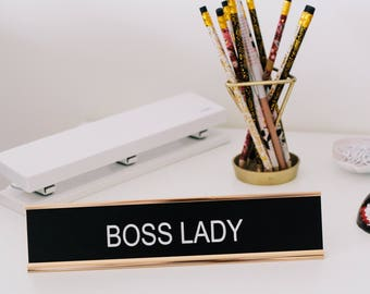 Office Signs, Desk Signs, Home Office, Office Decor, Teacher Gifts, Christmas Gift, Laser Engraved Gifts, Retirement Gift, Boss Gifts