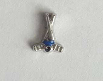 Hockey Sticks Floating Charm- Origami Owl- Living Locket