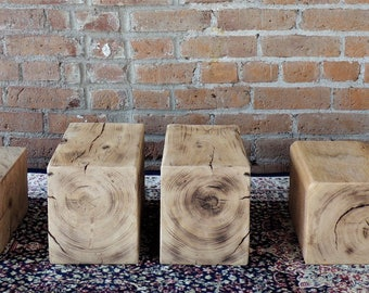 Rustic Bookends - Reclaimed Bookends - Accent Pieces - Home Decor - Office Decor - Group of 3 - Pairs of Bookends