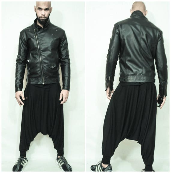 Dropped Crotch Draped  Harem Pant Mens/Womens- Inspired By Y3, Yeezy, Helmut Lang