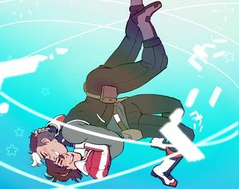 Shiro x Keith Poster