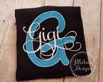 Great Gift - Custom Nickname shirt- Parent Shirt - Monogram shirt - Established in shirt 155 black